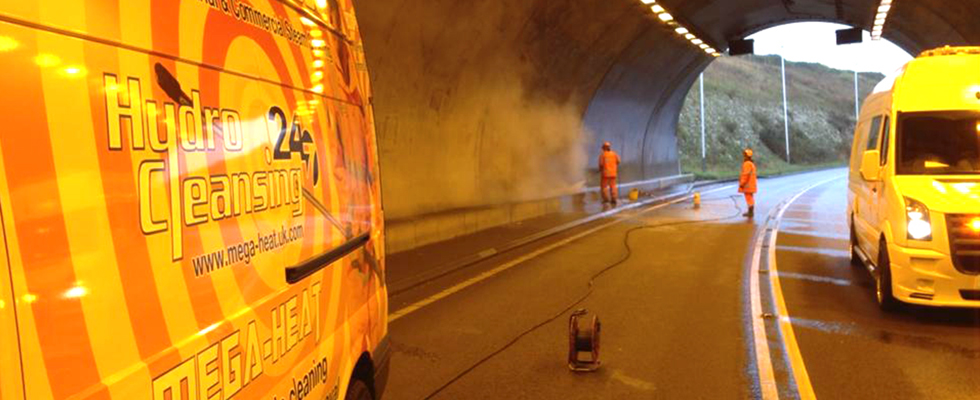 Tunnel Cleaning services